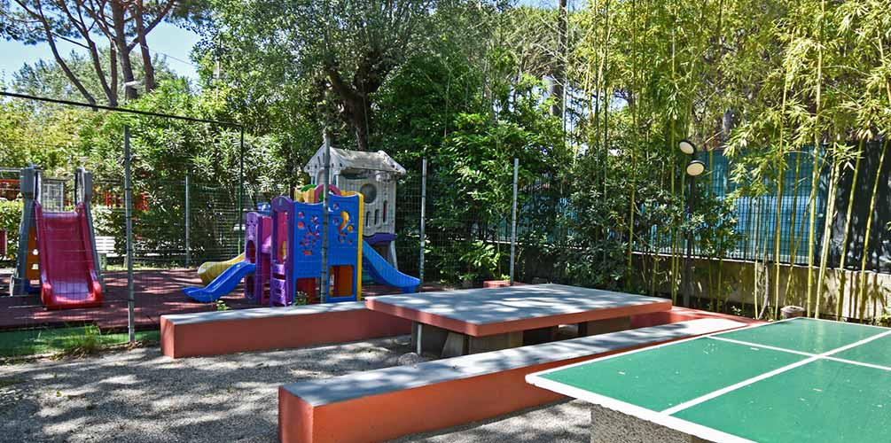 Children's Playground Camping Nuovo